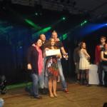 die Jury mit der Siegerin Rica Reil aus Westerstede